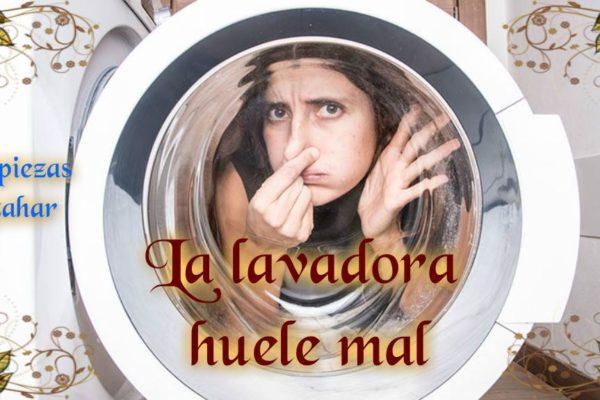 Quitar mala olor de la lavadora